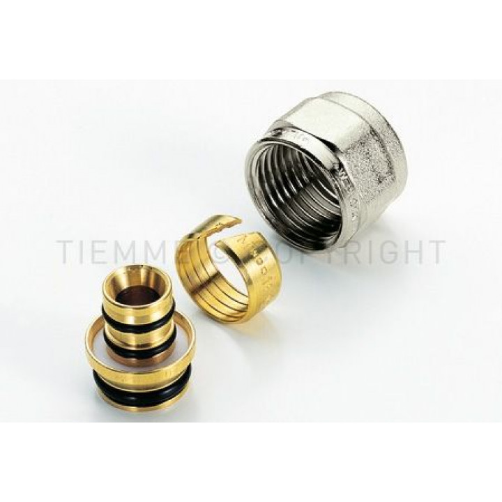 Евроконус для металлопластиковой трубы  Tiemme 6-2,0 х 1/2   ( 1440001 )