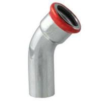 Отвод 45° EUROTUBI  28 оцинкованная сталь 1м ( C23ZF-LBP)