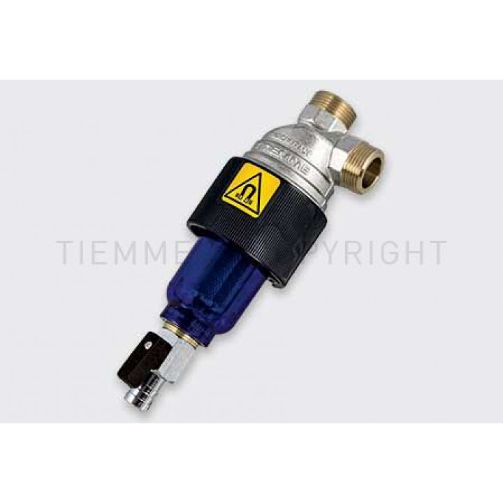 Магнитный фильтр для бойлера Tiemme  резьба внешняя / внешняя ( 3150004)