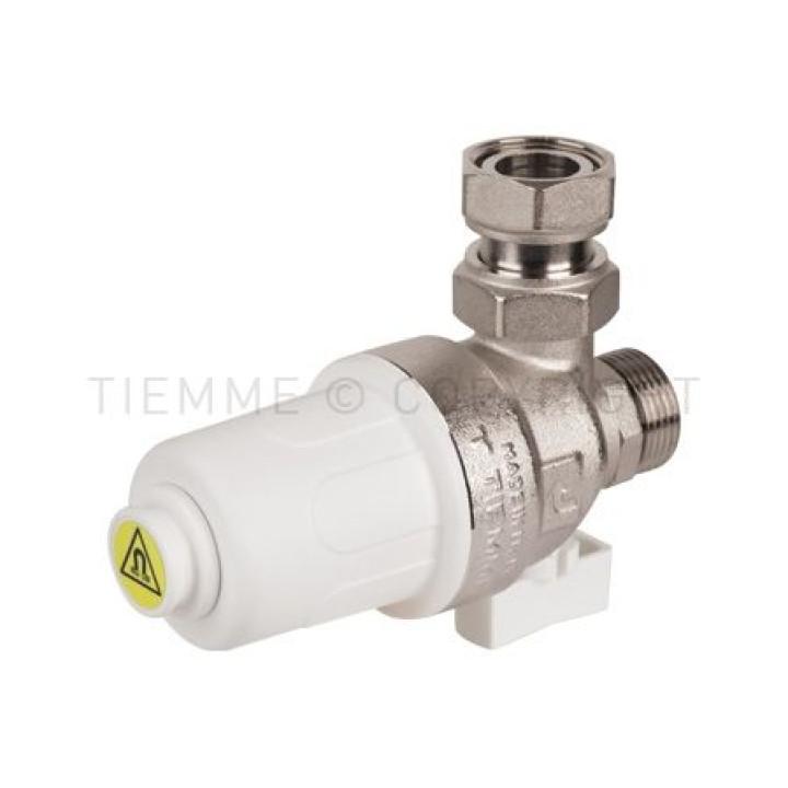"""Компактный магнитный фильтр для газового котла Tiemme 3/4""""  резьба внешняя / внутренняя ( 3150039 )"""