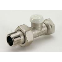 Прямой запорный вентиль с соединением для железных труб. Tiemme EXCEL  1/2 резьба внешняя / внутренняя ( 3230003 )