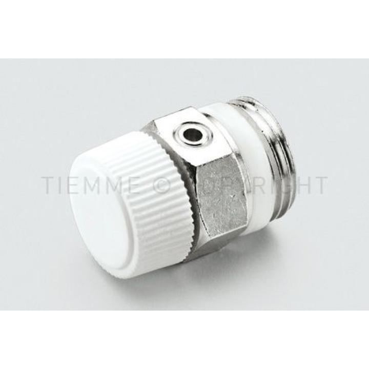 """Воздуховодные клапан для радиаторов Tiemme 1/2 """"с уплотнительным кольцом ( 1980006 )"""
