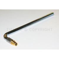 Трубка для подключения радиатора  Tiemme 16x2,2 - Ø15 L=300MM ( 1710001)