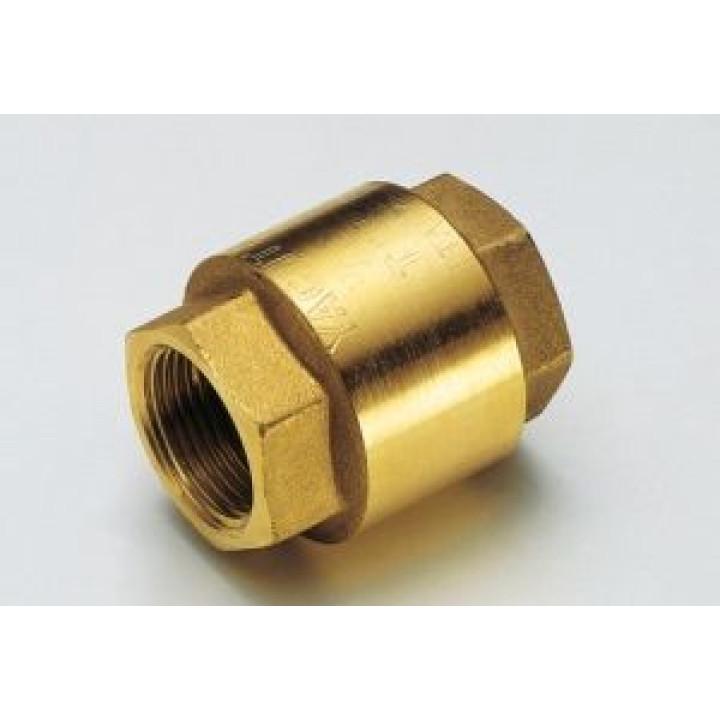 """Запорный клапан Tiemme YACHT, 1/2"""" резьба внутренняя / внутренняя ISO228, с нейлоновым запорным клапаном ( 3500003 )"""