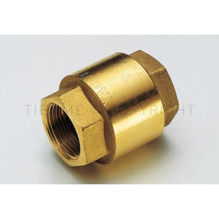 """Запорный клапан Tiemme YACHT, 1/2"""" резьба внутренняя / внутренняя ISO228, с металлическим запорным клапаном ( 3500030 )"""