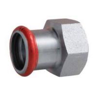 Муфта EUROTUBI с внутренней резьбой оцинкованная сталь  22x1/2 ( C80PE-LBP)